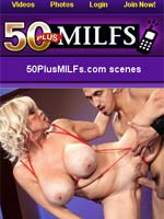 Mobile movies of hot MILFs, mature women, and grannies!